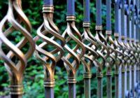 clôture décorative